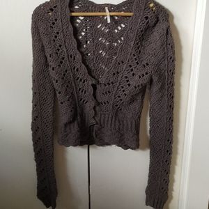 Bohemian Free People Cardigan.